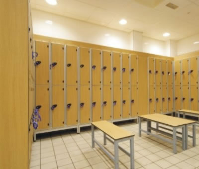 Changing Rooms Changing Room Lockers Changing Room Benches